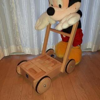 積み木 手押し車 おもちゃ
