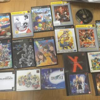 PS1、PS2、PS3 ソフトまとめ売り ドラクエ FF スパロボあり