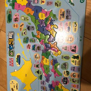 学研 日本列島パズル