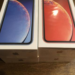 新品未開封 iPhone xr 128GB  コーラル S...