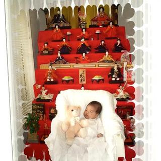ひな人形 久月7段飾り 無料