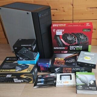 ゲーミングPC i7 8700k Win10 GTX1070 S...