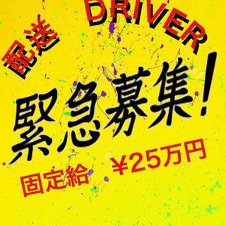 来年から頑張ろう!!配送ドライバー募集