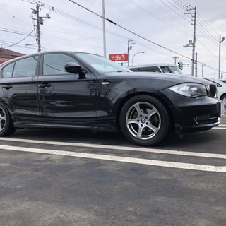 BMW   116i 後期型 車検付き 低走行車