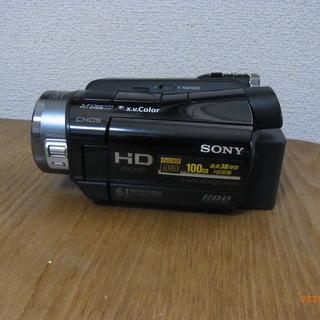 ビデオカメラSONY HDRSR8+三脚+予備バッテリーNP-F...