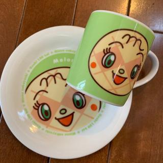 アンパンマン メロンパンナちゃんのお皿&マグカップ