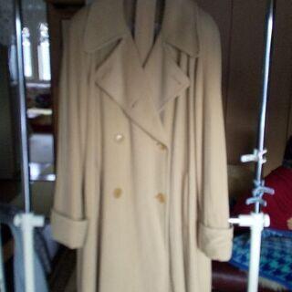 アンゴラ ソプラーニ マキシ丈コート ベージュ  L、LLサイズの方に