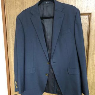 スーツ 上着のみ 紺色