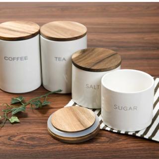Coffee & Tea キャニスター