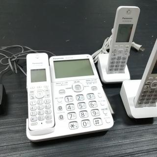 パナソニック RU・RU・RU デジタルコードレス電話機 子機2台付き