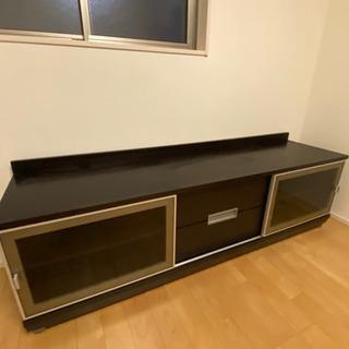 IDC大塚家具テレビボードW1800無垢突板ウレタン塗装