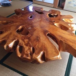 青森・下北天然ヒバ使用 ローテーブル
