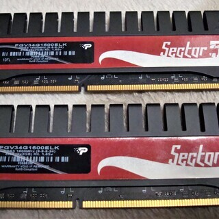 PATRIOT DDR3 1600Mhz(2GBx2)