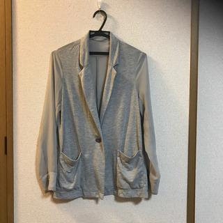 GU シースルー 薄手ジャケット