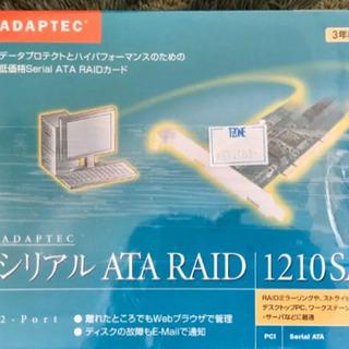 未開封 Adaptec シリアル ATA RAID 1210SA