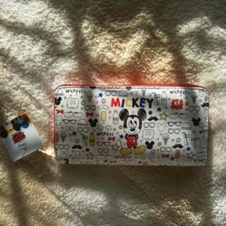ミッキー&ミニーの長財布