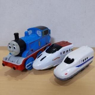 回転式トーマスとプラレール新幹線🚄