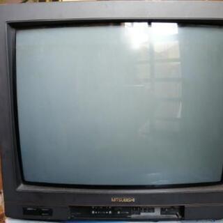 三菱ブラウン管テレビ