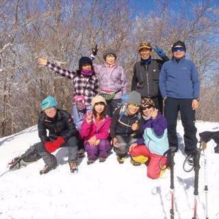 初級雪山  体験登山に参加しませんか!腕山(かいなやま 徳島県三好市)