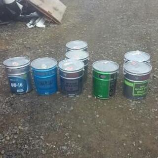 ペール缶 オイル缶 1個500円 あき缶