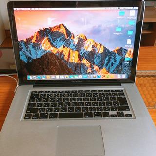 MacBook Pro 2011 Late i7 15インチ