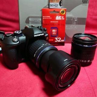 OLYMPUS E-520 一眼レフカメラ ダブルレンズキット