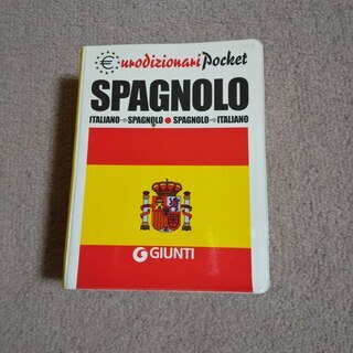 スペイン語-イタリア語/イタリア語-スペイン語 辞典