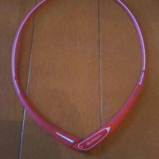 ファイテン製スポーツネックレス赤