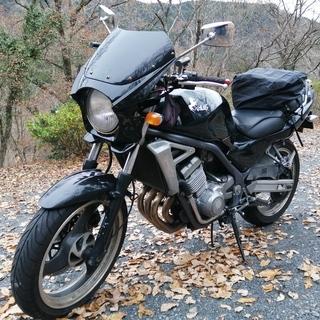 規制前45馬力のバリオス 250cc ZR250 四気筒エンジン...