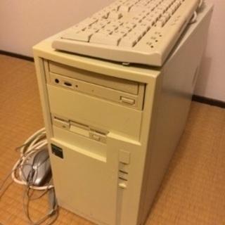 古 PC 本体 キーボード付き