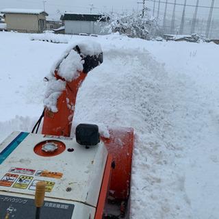 ⛄️弘前市で除雪に困っている方はご連絡ください⛄️
