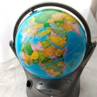 地球儀 しゃべる
