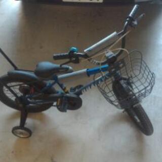 子供用自転車 16インチ 補助輪、スタンド有
