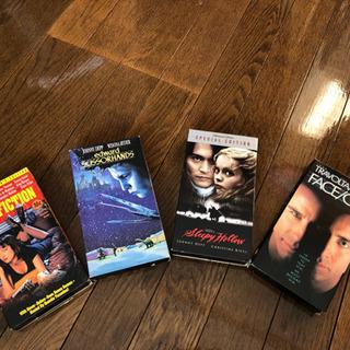 VHS 英語版 4作品