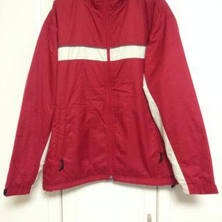 DINKEL ジャケット ブルゾン ジャンパー 赤 Lサイズ