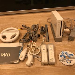Wii 本体 付属品一式 マリオカート付き
