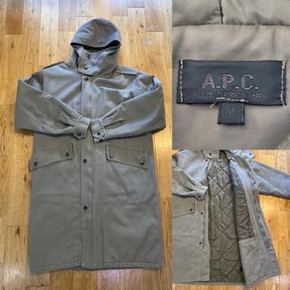メンズ A.P.C コート フード APC