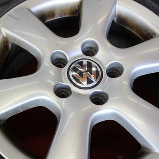 ■■ VW フォルクスワーゲン純正 ■■ 15×6.5J +50...