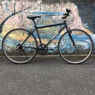 クロスバイク!6段ギヤ  サビあります。