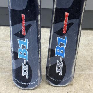 ジュニアスキー 128cm 2点セット こども 子供用 BXB JX-B1 ペイペイ対応 札幌市西区西野 - 売ります・あげます