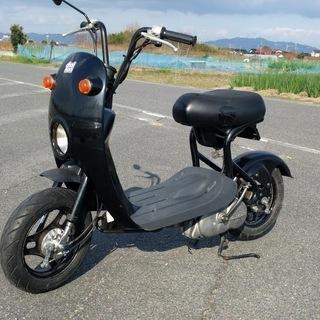 【取引完了】スズキ チョイノリ(50cc)ブラック 実動車です