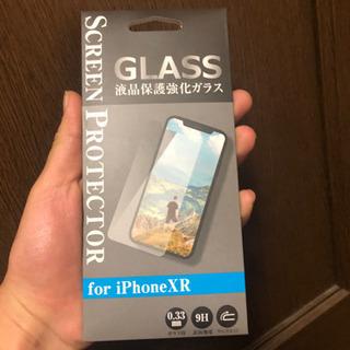 iPhoneXRガラスケース