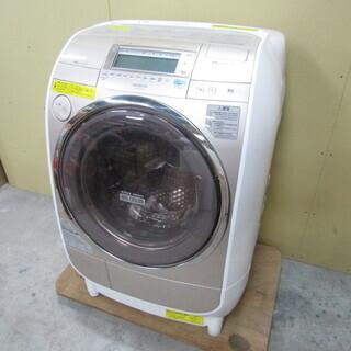 QB2290 【稼働品/高機能】日立 洗濯機 乾燥機 2010年...