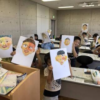 絵が苦手な子専用!夏休み迄に絵が好きになる子供絵画教室(基礎5回...