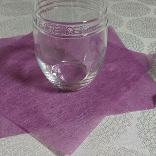 LE-CREUSETグラス(非売品)
