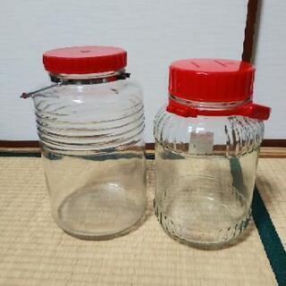 【取引中】保存用ビン 2個