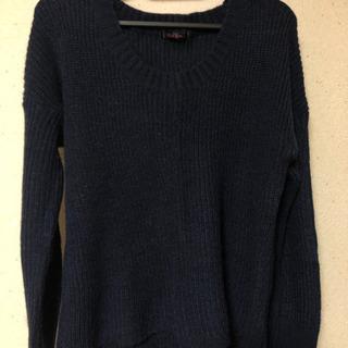 ネイビーセーター Mサイズ 最終価格❗️