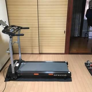 ALINCO ランニングマシン・トレッドミル AFR2116