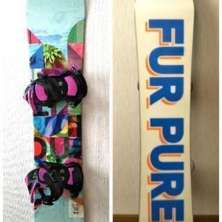 ★1回使用★レディース スノーボード FURPURE 138cm...