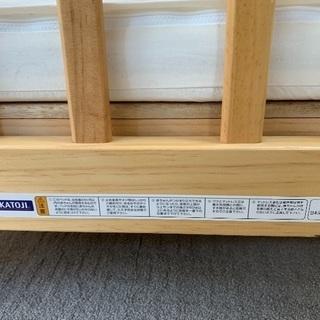 木製 ベビーベッド